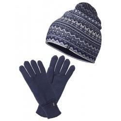 Czapka i rękawiczki merynos...